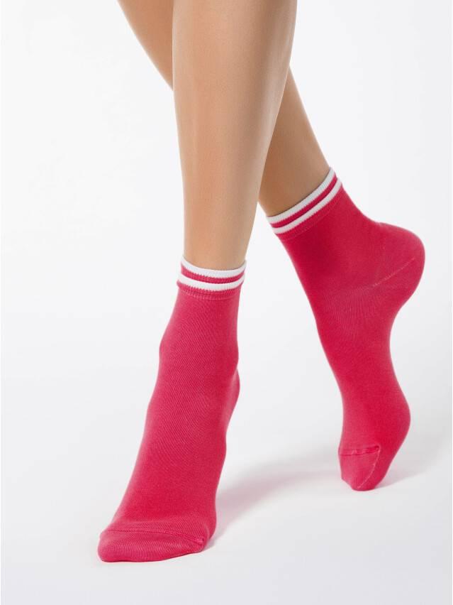 Women's socks CONTE ELEGANT CLASSIC, s.23, 010 raspberry pink - 1