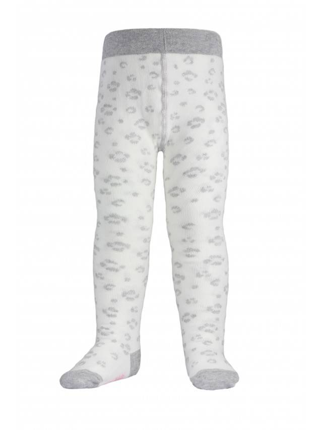 Children's tights CONTE-KIDS TIP-TOP, s.62-74 (12),382 milky-grey - 3