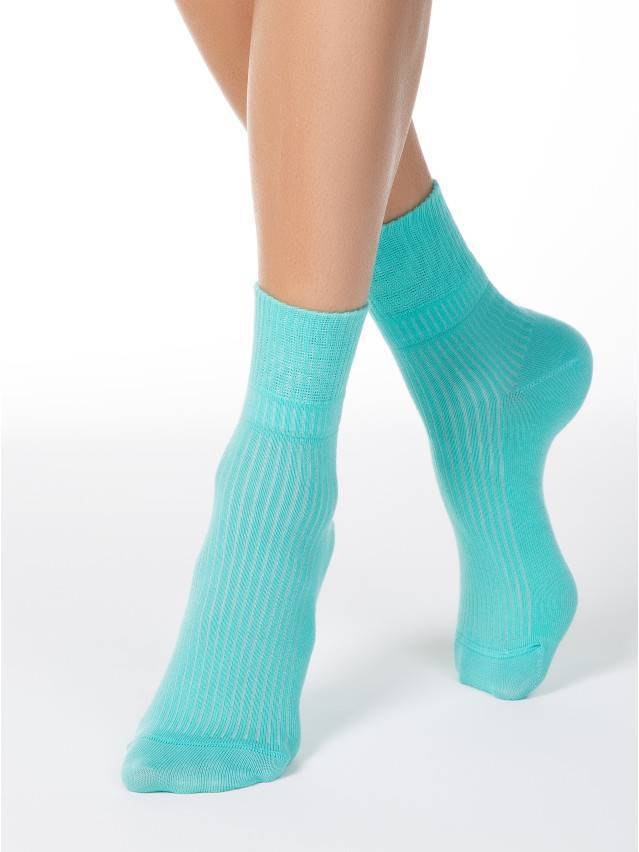 Women's socks CONTE ELEGANT CLASSIC, s.23, 013 turquoise - 2