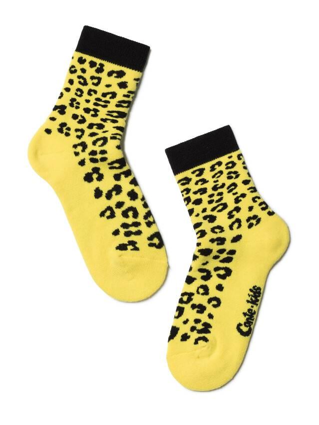 Children's socks CONTE-KIDS SOF-TIKI, s.16, 225 yellow - 1
