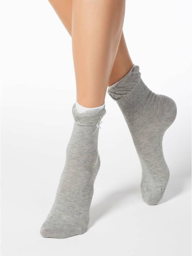 Women's socks CONTE ELEGANT COMFORT, s.23, 037 grey - 1