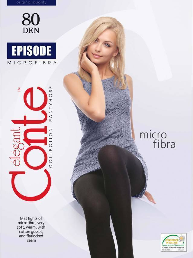 Women's tights CONTE ELEGANT EPISODE 80, s.2, mocca - 2