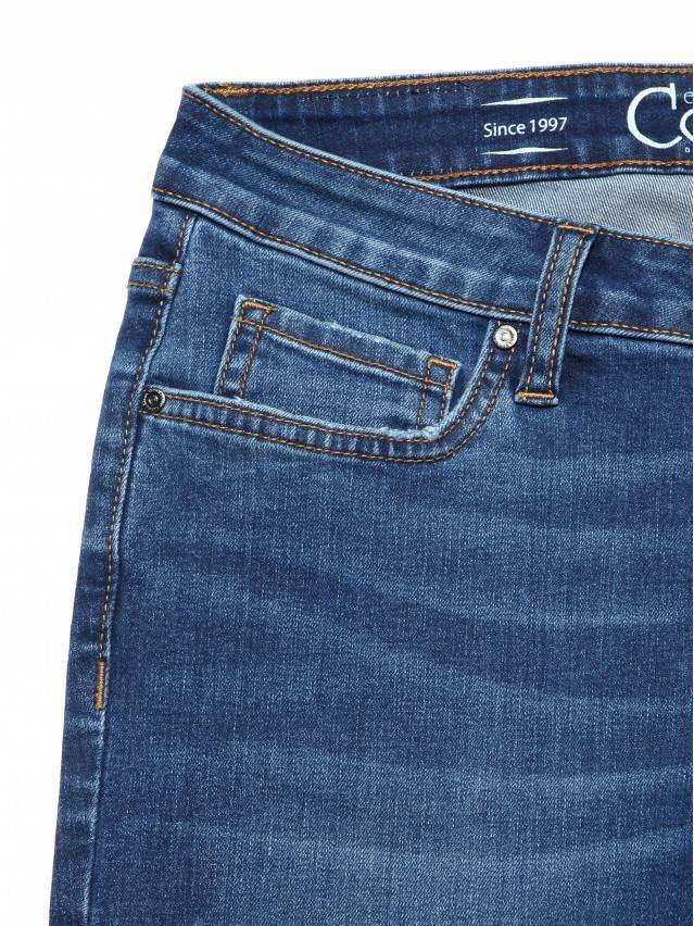 Denim trousers CONTE ELEGANT CON-152, s.164-98, authentic blue - 5