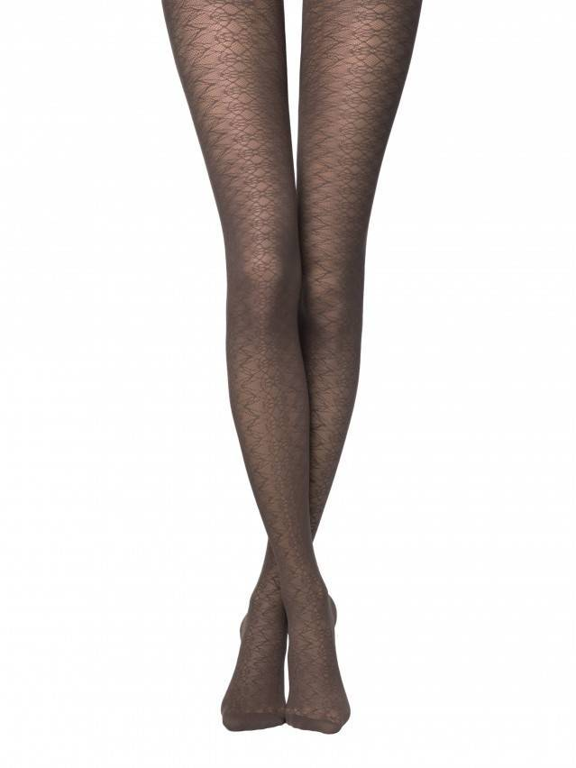 Women's tights CONTE ELEGANT ALLYSON, s.2, grafit - 1