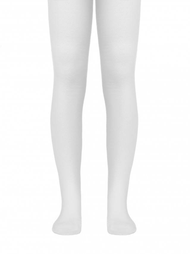 Children's tights CONTE-KIDS TIP-TOP, s.140-146 (22),365 white - 1