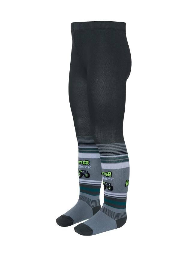 Children's tights CONTE-KIDS TIP-TOP, s.104-110 (16),388 dark grey - 1
