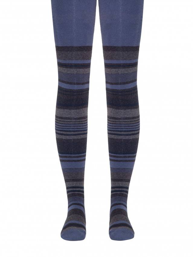 Children's tights CONTE-KIDS SOF-TIKI, s.140-146 (22),399 dark denim - 1