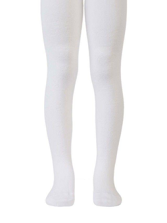 Children's tights CONTE-KIDS TIP-TOP, s.104-110 (16),361 white - 1