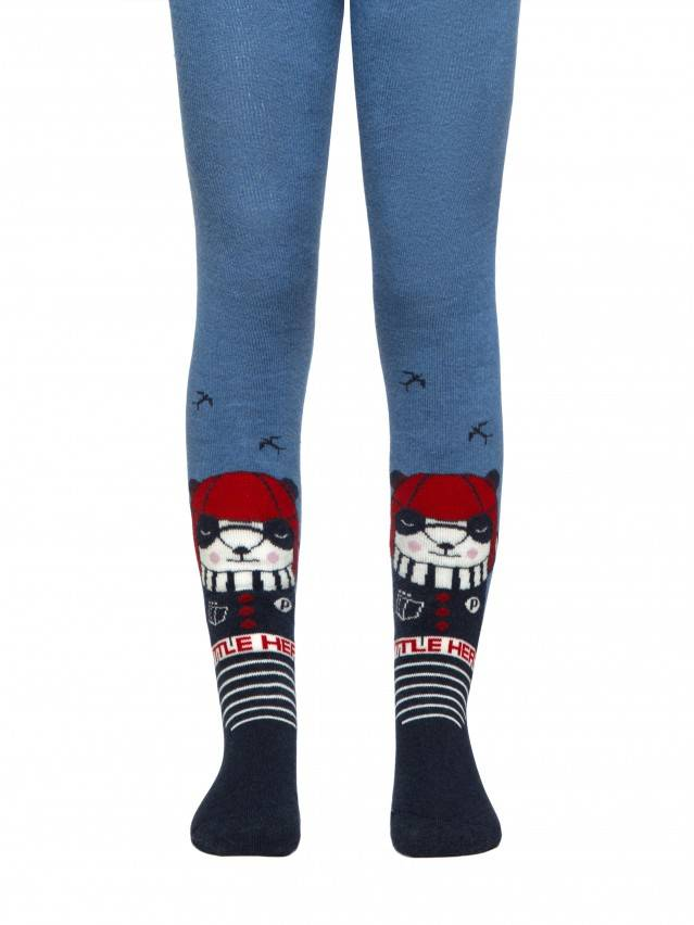 SOF-TIKI tights (terry inside) with drawings 1