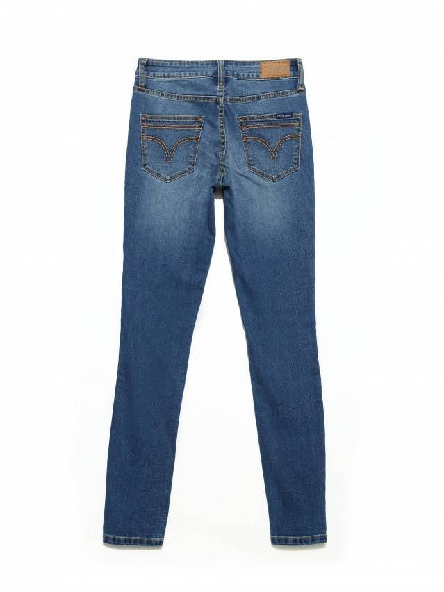 Denim trousers CONTE ELEGANT CON-182, s.170-102, authentic blue - 6