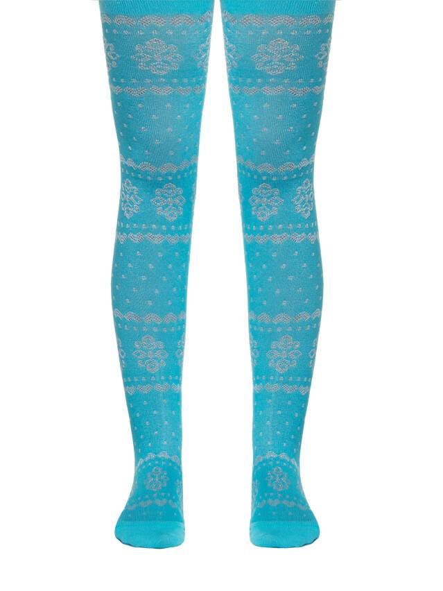 Children's tights CONTE-KIDS BRAVO, s.104-110 (16),372 turquoise - 1