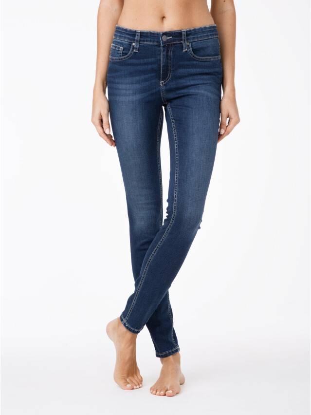 Denim trousers CONTE ELEGANT 4640/4915D, s.170-102, dark blue - 1