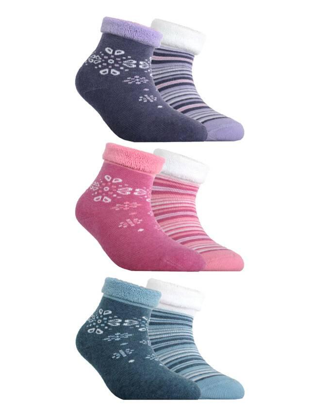 Children's socks CONTE-KIDS SOF-TIKI (2 pairs),s.12, 703 white-pink - 1