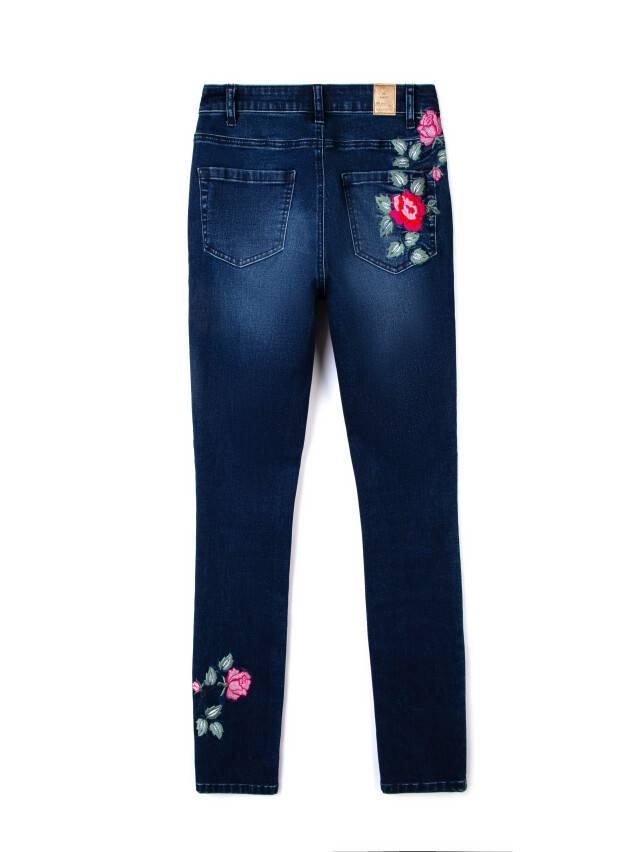 Denim trousers CONTE ELEGANT CON-53, s.170-102, navy - 5