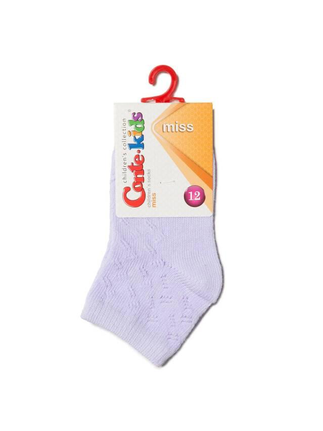 Children's socks CONTE-KIDS MISS, s.12, 113 pale violet - 2