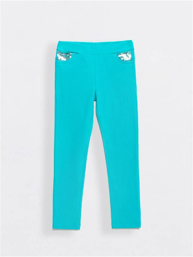 Leggings for girls CONTE ELEGANT PINA, s.110,116-56, blue - 1