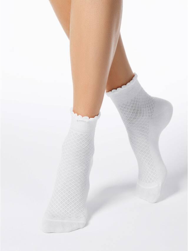 Women's socks CONTE ELEGANT CLASSIC, s.23, 055 white - 1