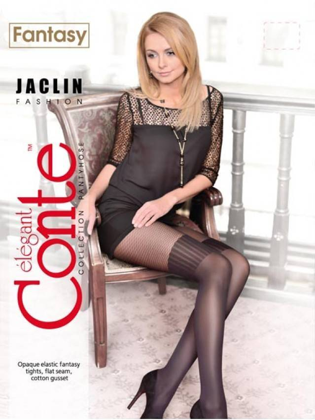 Women's tights CONTE ELEGANT JACLIN, s.2, grafit - 2