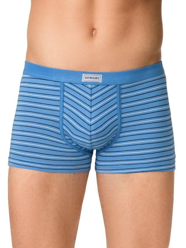 Men's pants DiWaRi BAND SHORTS 358, s.102,106/XL, sky-blue - 1