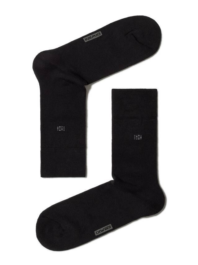 Men's socks DiWaRi COMFORT, s. 40-41, 017 black - 1