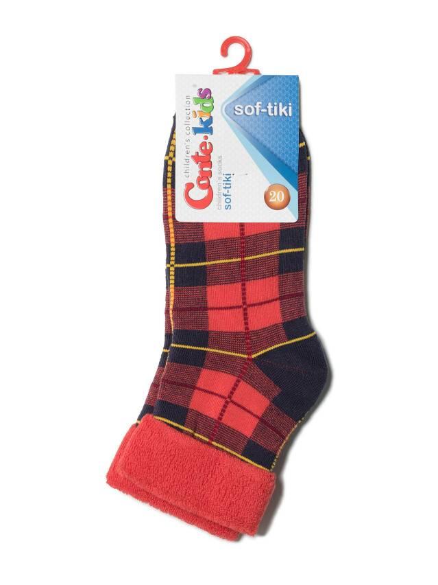 Children's socks CONTE-KIDS SOF-TIKI, s.20, 224 red - 2