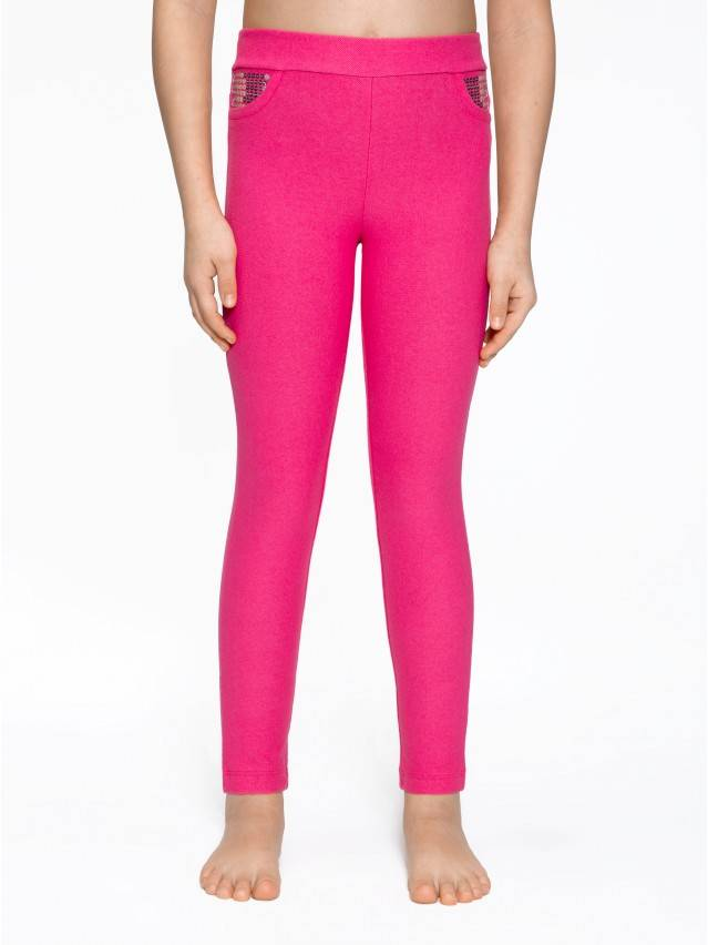 Leggings for girls CONTE ELEGANT PINA, s.110,116-56, marino - 1