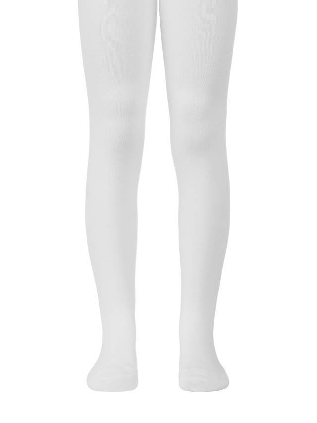Children's tights CONTE-KIDS CLASS, s.104-110 (16),191 white - 1