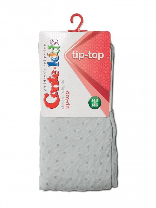 Children's tights CONTE-KIDS TIP-TOP, s.150-152 (22),323 light grey - 2