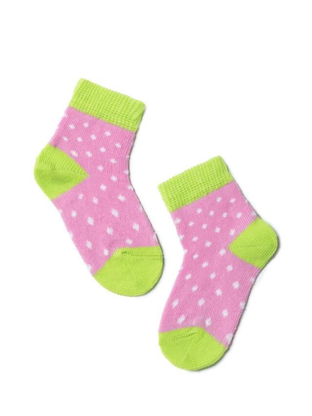 Children's socks CONTE-KIDS TIP-TOP, s.8, 214 mallow-lettuce green - 1