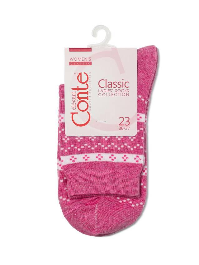 Women's socks CONTE ELEGANT CLASSIC, s.25, 062 pink - 3
