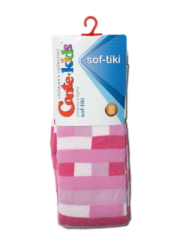 Children's tights CONTE-KIDS SOF-TIKI, s.116-122 (18),393 pink - 2