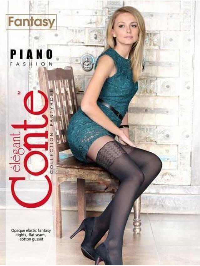 Women's tights CONTE ELEGANT PIANO, s.2, nero - 2