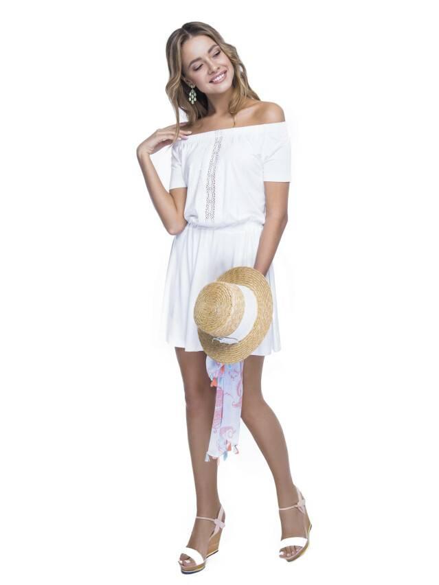 Women's gown CONTE ELEGANT LPL 523, s.158,164-100-106, milky - 3
