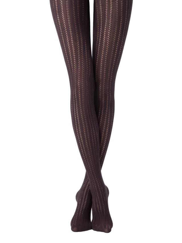 Women's tights CONTE ELEGANT FASHION, s.2, chocolate - 1