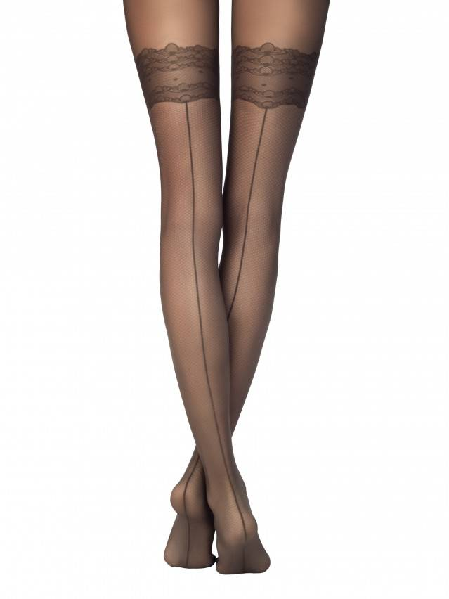 Women's tights CONTE ELEGANT ESSENCE, s.2, grafit - 1