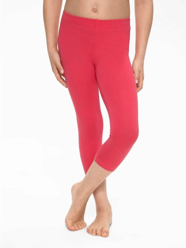 Knee pants for girl CONTE ELEGANT NINETTE, s.134,140-72, coral - 2