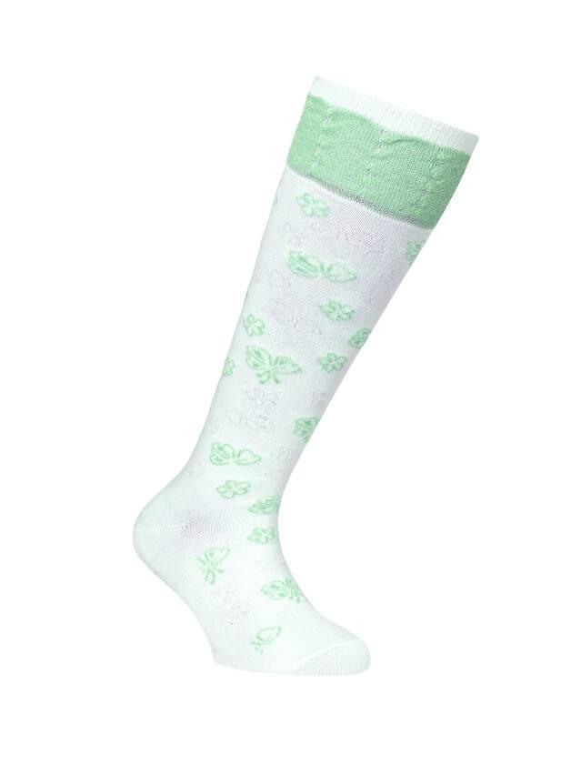 Children's knee high socks CONTE-KIDS TIP-TOP, s.20, 017 lettuce green - 1
