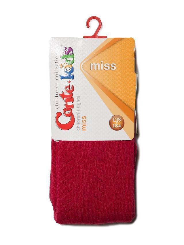 Children's tights CONTE-KIDS MISS, s.128-134 (20),267 wine-coloured - 2