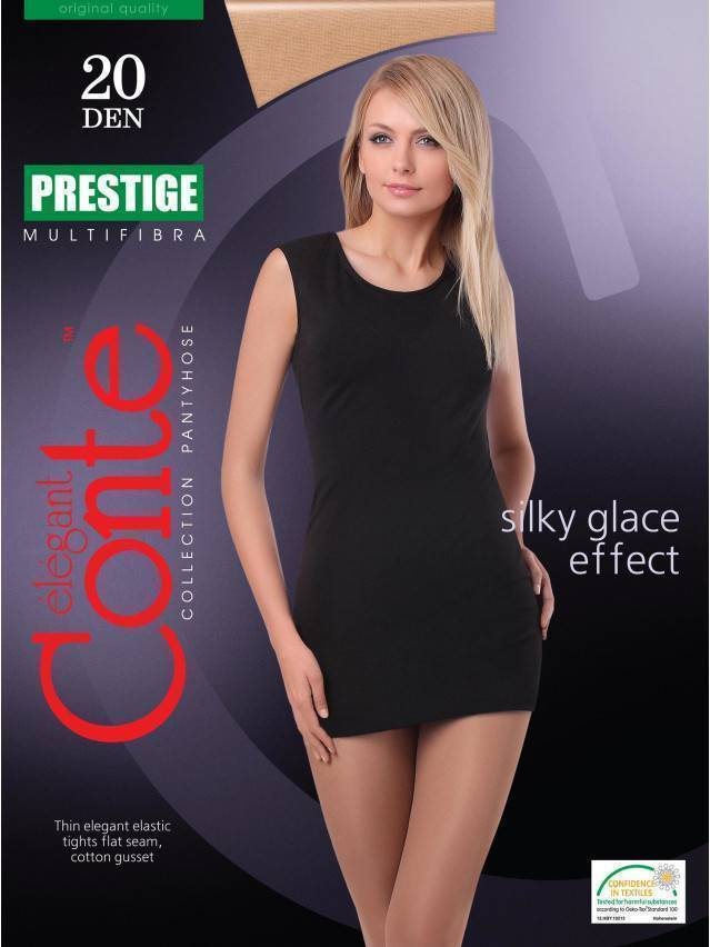 Women's tights CONTE ELEGANT PRESTIGE 20, s.2, nero - 2