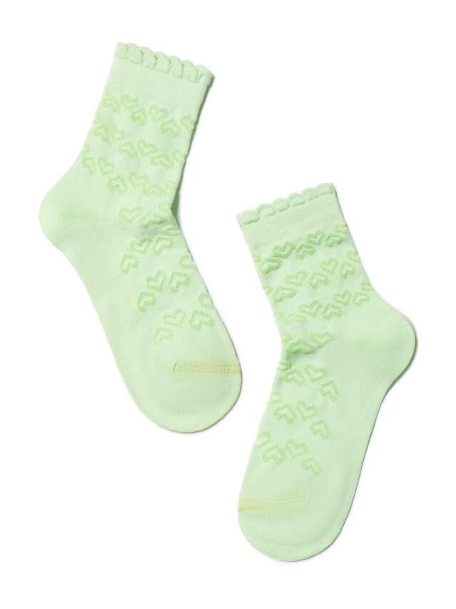Children's socks CONTE-KIDS BRAVO, s.14, 184 lettuce green - 1