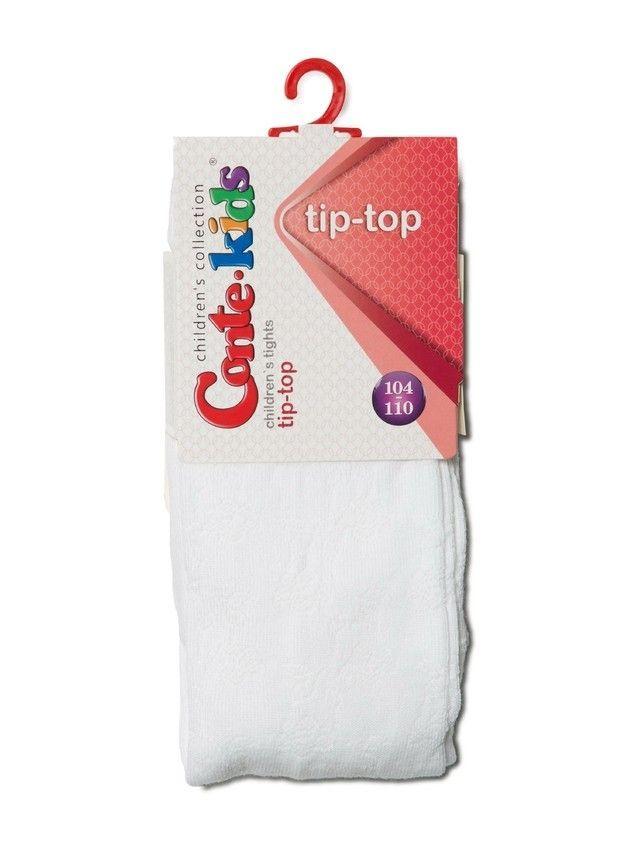 Children's tights CONTE-KIDS TIP-TOP, s.104-110 (16),361 white - 3