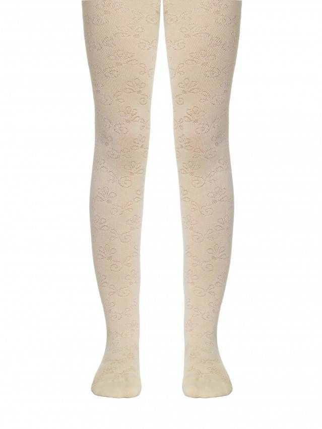 Children's tights CONTE-KIDS BRAVO, s.116-122 (18),374 beige - 1