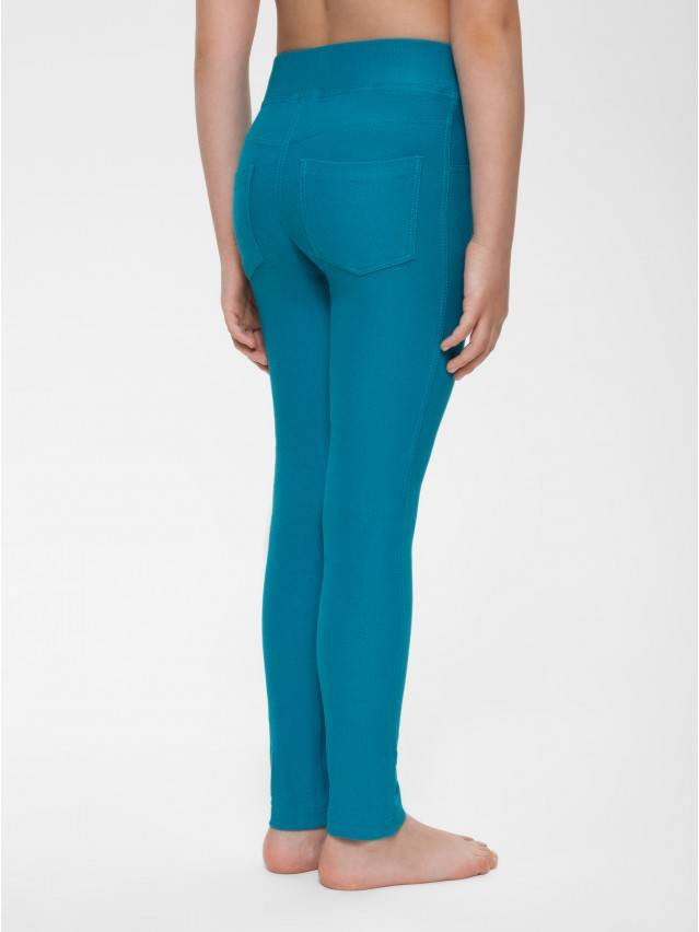 Leggings for girls CONTE ELEGANT ALBA, s.122,128-64, sea-green - 2