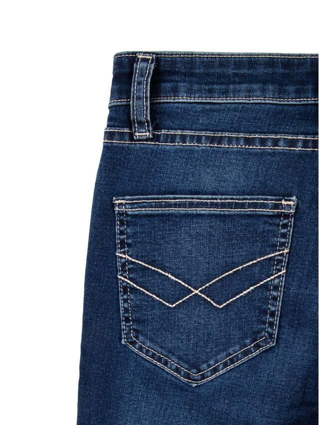 Denim trousers CONTE ELEGANT 4640/4915D, s.170-102, dark blue - 7