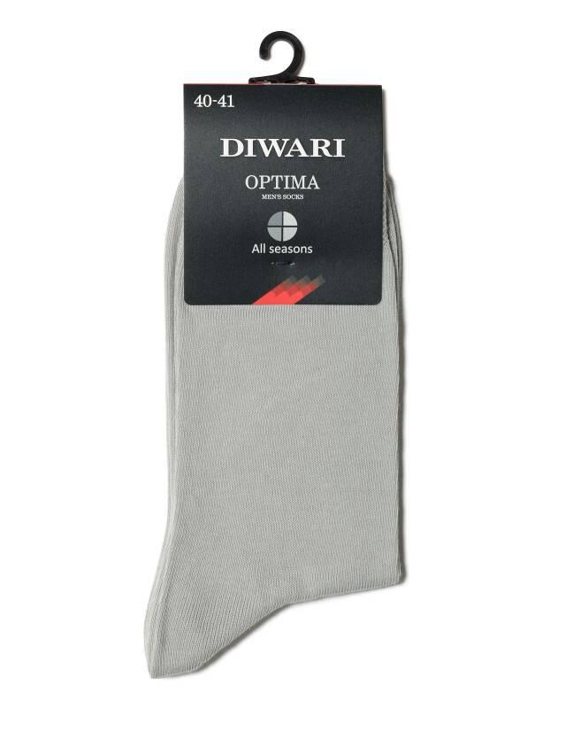 Men's socks DiWaRi OPTIMA (All seasons),s. 40-41, 000 grey - 2