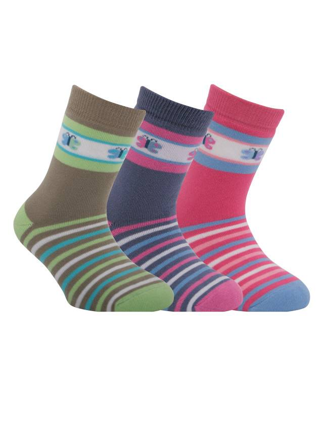 Children's socks CONTE-KIDS SOF-TIKI, s.16, 096 pink - 1