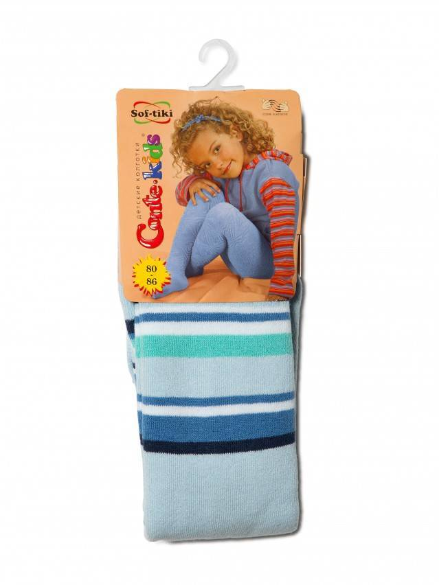 Children's tights CONTE-KIDS SOF-TIKI, s.80-86 (14),223 light blue - 1