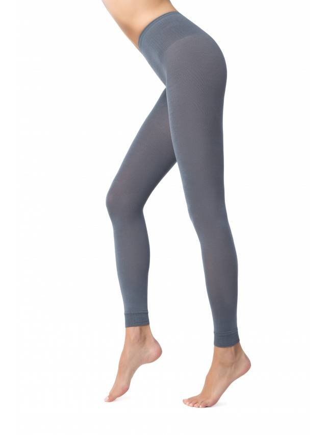 Women's leggings CONTE ELEGANT MODAL LEGGINGS 250, s.2, grey - 1
