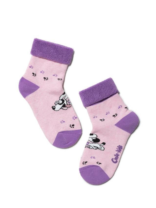 Children's socks CONTE-KIDS SOF-TIKI, s.16, 223 light pink - 1