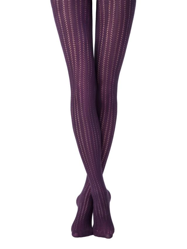Women's tights CONTE ELEGANT FASHION, s.2, melanzana - 1